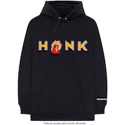The Rolling Stones - Honk Letters Men's XX-Large Pullover Hoodie - Black