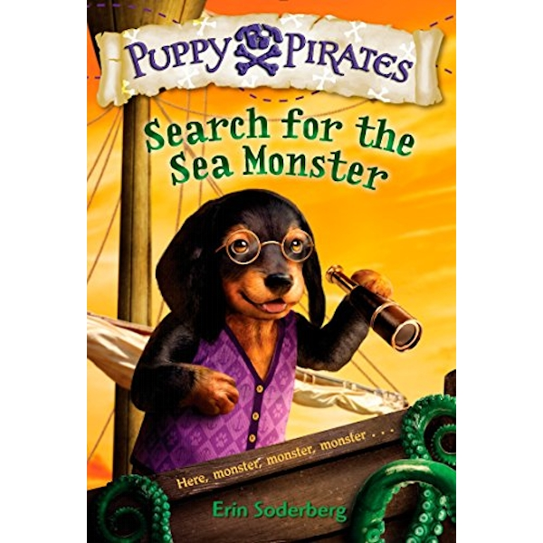 Puppy Pirates #5: Search for the Sea Monster by Erin Soderberg (Hardback, 2016)