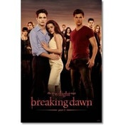 Twilight Breaking Dawn Cast Maxi Poster