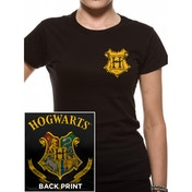 Harry Potter - Colour Crest Women X-Large T-Shirt - Black
