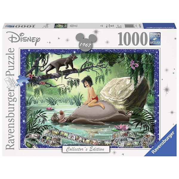 Ravensburger Disney Collector's Edition Jungle Book 1000 Piece Jigsaw Puzzle