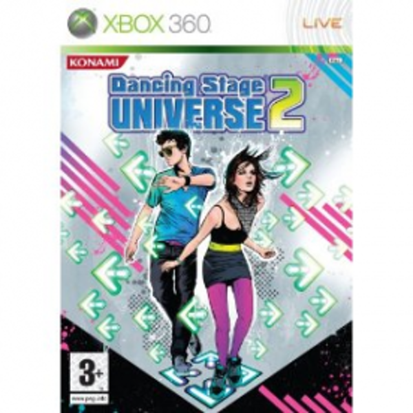 Dancing Stage Universe 2 Game + Dance Mat Xbox 360