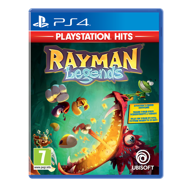 Rayman Legends Game PS4 (PlayStation Hits)