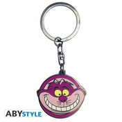 Disney - Alice Cheshire Cat Metal Keyring