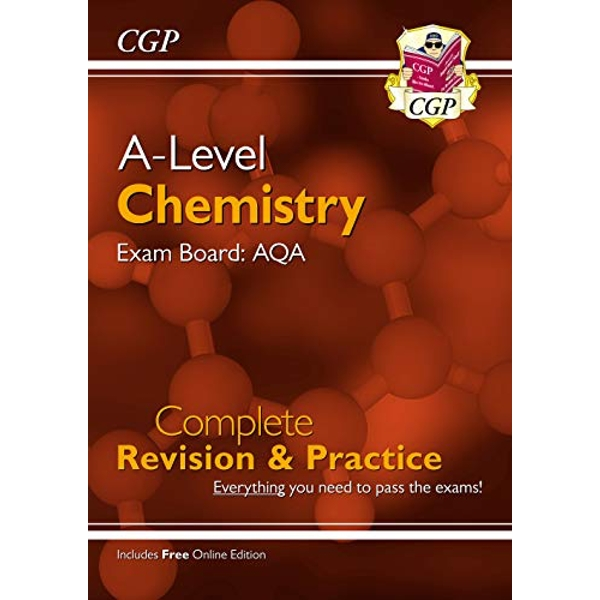 New A-Level Chemistry: AQA Year 1 & 2 Complete Revision & Practice with Online Edition  Paperback / softback 2018
