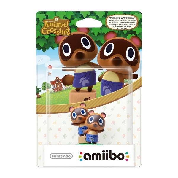 Timmy & Tommy Amiibo (Animal Crossing) for Nintendo Wii U & 3DS