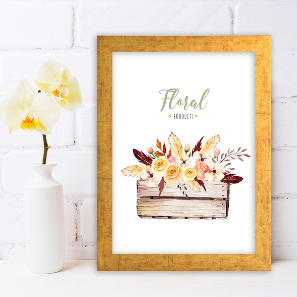 AC6632130701 Multicolor Decorative Framed MDF Painting