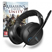 ROCCAT Kave XTD 5.1 Surround Sound Gaming Headset with Assassin's Creed Unity PC CD Key for Uplay