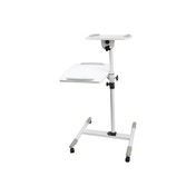 Proper Projector Trolley White for Laptops and Projectors