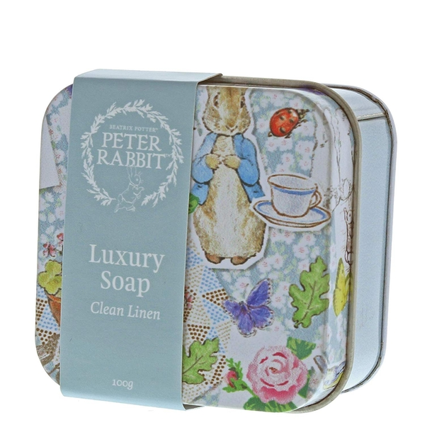 Peter Rabbit Clean Linen Soap Tin