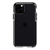Tech21 Protective Apple iPhone 11 Pro Case Thin Patterned Back Cover with FlexShock - Evo Check - Smokey/Black