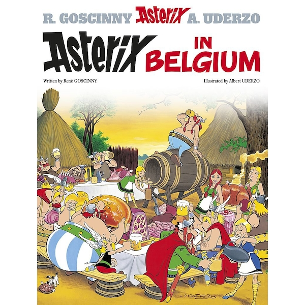 Asterix: Asterix in Belgium : Album 24