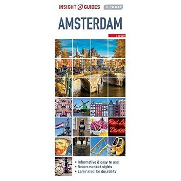 Insight Guides Flexi Map Amsterdam  Sheet map 2017