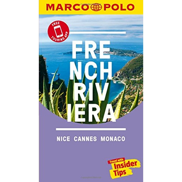 French Riviera Marco Polo Pocket Travel Guide - with pull out map  Paperback / softback 2018