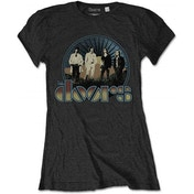 The Doors - Vintage Field Women's X-Large T-Shirt - Grey
