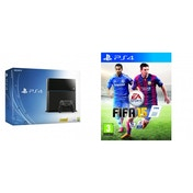 PlayStation 4 (500GB) Black Console PS4 + FIFA 15