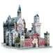 Wrebbit 3D Neuschwanstein Castle Jigsaw Puzzle - 890 Pieces [Damaged Packaging] - Image 2