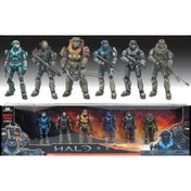 Halo Reach Noble Team Deluxe Figures 6 Pack