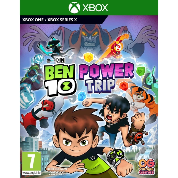 Ben 10 Power Trip Xbox One Game - Image 1