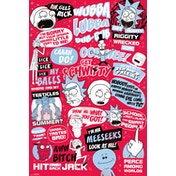 Rick and Morty Quotes Maxi Poster