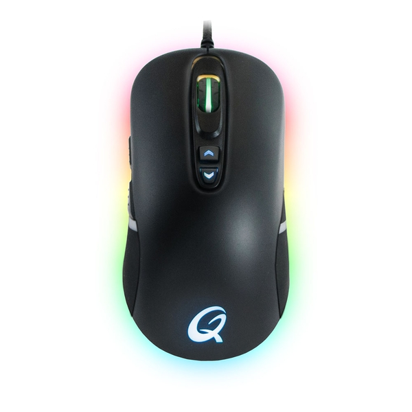 Qpad Dx-30 Fps 3000Dpi Optical Gaming Mouse with RGB Backlight Illumination Wired USB