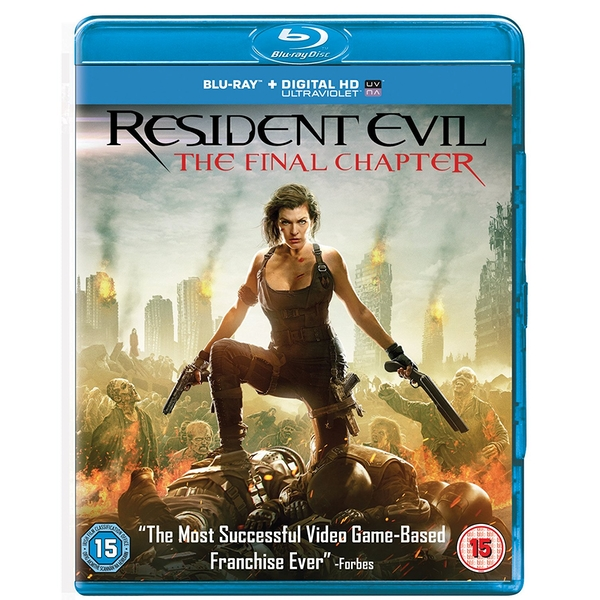 Resident Evil: The Final Chapter Blu-ray