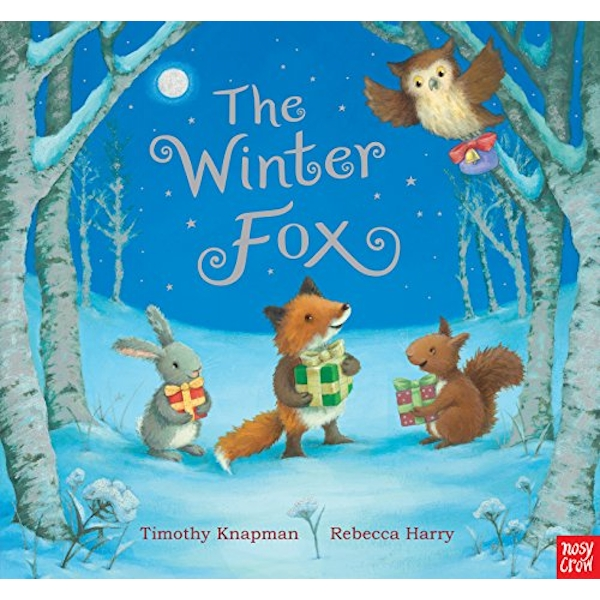 The Winter Fox  Board book 2018