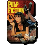 Pulp Fiction One Sheet Magnet