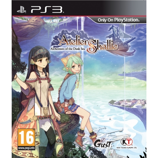 Atelier Shallie Alchemists of the Dusk Sea PS3 Game - Image 1