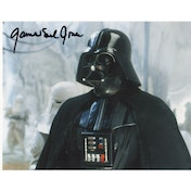 Star Wars Personally Signed 10X8 James Earl Jones Voice Of Darth Vader