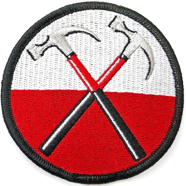 Pink Floyd - The Wall Hammers Circle Standard Patch