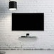 Tempered Black Glass Floating Shelf | M&W 1 Tier - Image 2