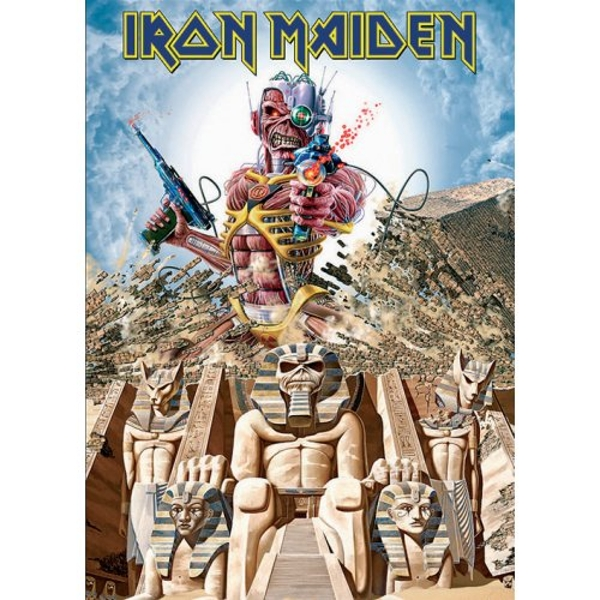 Iron Maiden - Somewhere back in time Postcard