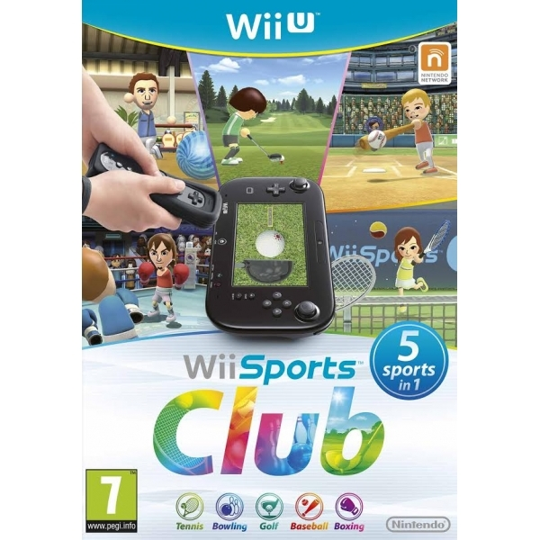 Wii Sports Club Wii U Game - Image 1