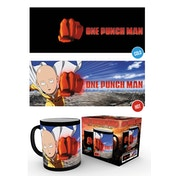 One Punch Man Saitama Heat Change Mug