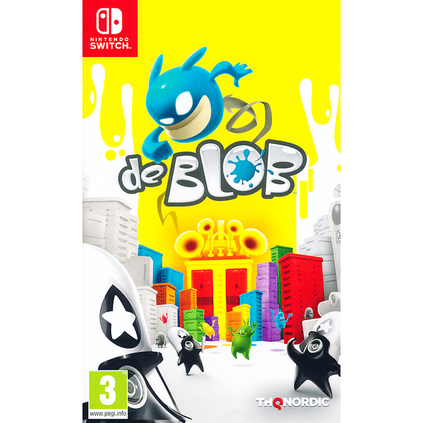 De Blob Nintendo Switch Game