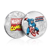 The Captain America Limited Edition Collectors Coin (Silver)