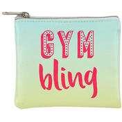 Gym Bling... Small Jewellery Pouch