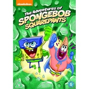 The Adventures of SpongeBob SquarePants DVD