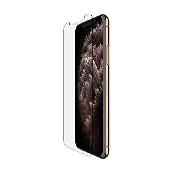 Belkin iPhone 11 Pro Max Screen Protector TemperedGlass Anti-Microbial (Advanced Protection plus Reduces Bacteria on Screen up to 99 percent