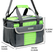 Large 16L Insulated Cooler Tote Bag | M&W - Image 5