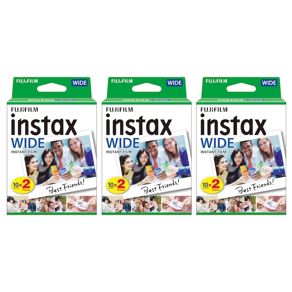 Fujifilm Instax 300 Wide Picture Format Film Pack - 60 Print Shots