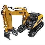 HUINA 1/14th 16 Channel 2.4G Timber Grabber with Die Cast Grab