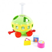In The Night Garden Ninky Nonk Spinning Shape Sorter Carriage
