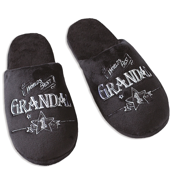 Ultimate Gift for Man Slippers Large UK Size 11-12 Grandad