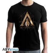 Assassin's Creed - Crest Odyssey - Men's Large T-Shirt - Black