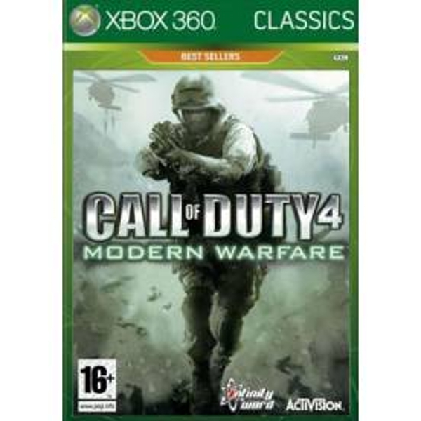 Call Of Duty 4 Modern Warfare Game (Classics) Xbox 360