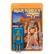 Powerslave Pharaoh Eddie (Iron Maiden) ReAction Action Figure