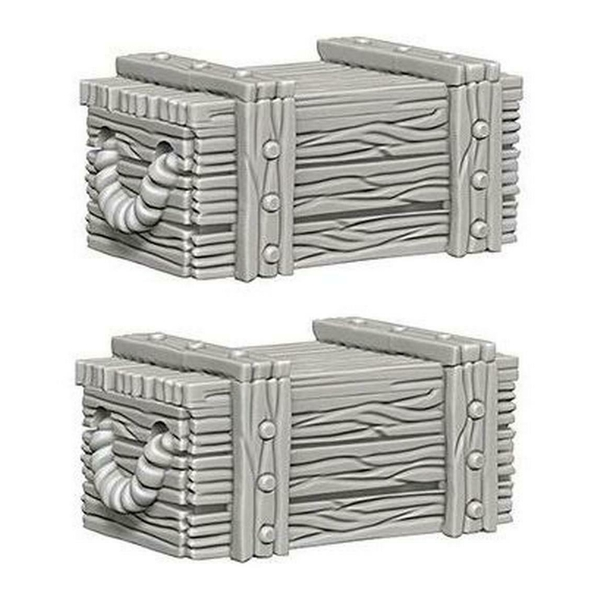 Pathfinder Deep Cuts Unpainted Miniatures Crates