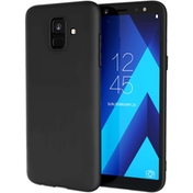 Samsung Galaxy A6 (2018) Matte TPU Gel - Solid Black
